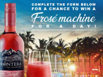 Frontera Frosé Sweepstakes
