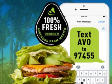 Mooyah Avocados From Mexico Text to Win Sweepstakes (Text Entry)