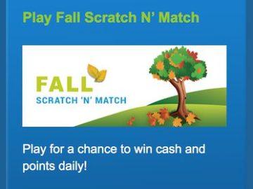 VIP Voice Fall Scratch n' Match Instant Win Game