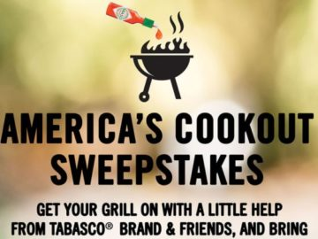 Tabasco America's Cookout Sweepstakes