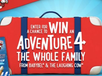 Babybel The Laughing Cow Disney Adventure Sweepstakes