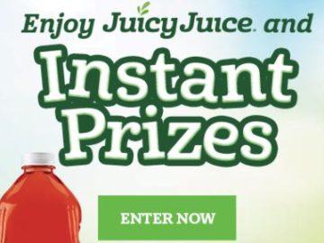 Enjoy Juicy Juice Instant Win Game (Code Required)