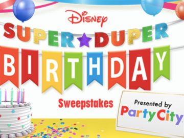 Disney's Super Duper Birthday Sweepstakes (Limited Entry)