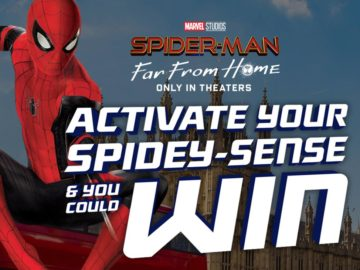 Doritos Spider Man: Far From Home Sweeps and Instant Win (Code Needed)