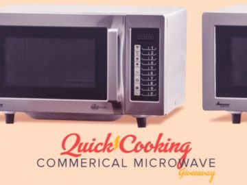 Don't You Wanna Amana Commercial Microwave Giveaway