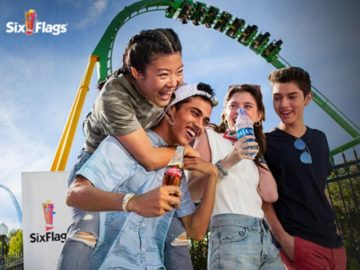 Ride and Refresh With Coke & Six Flags Sweepstakes