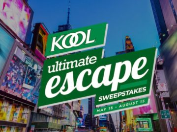 KOOL Ultimate Escape Instant Win Game and Sweepstakes