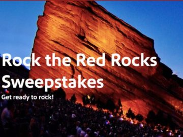 Southwest Airlines Rock the Red Rocks Sweepstakes