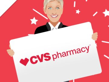 Ellen DeGeneres: Win a $300 CVS Gift Card