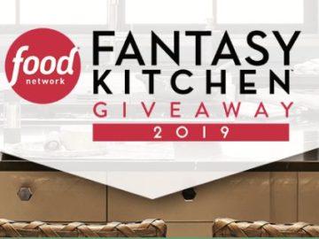 Food Network Fantasy Kitchen Giveaway 2019