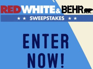 Red, White & BEHR Sweepstakes