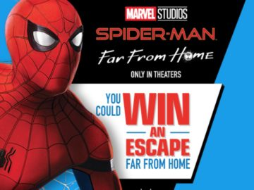 Kellogg's Spider-Man: Far From Home Experience Sweepstakes (Purchase/Mail-In)