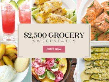 Martha Stewart  $2,500 Grocery Sweepstakes