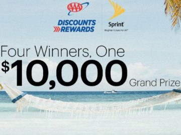 Sprint AAA Dream Vacation Sweepstakes (AAA Members Only)
