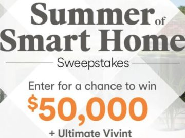 HGTV Summer of Smart Home Sweepstakes