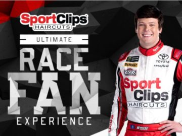 Sport Clips Ultimate Race Fan Experience Darlington Sweepstakes