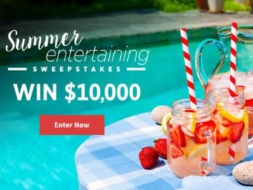 All Recipes Summer Entertaining $10,000 Sweepstakes