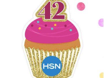 HSN 42nd Birthday Cupcake Giveaway (Facebook)