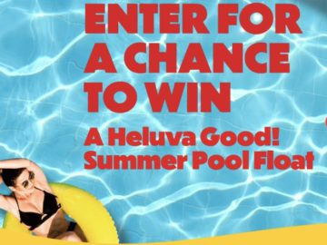 Heluva Good! Pool Float Sweepstakes (Some States Excluded)