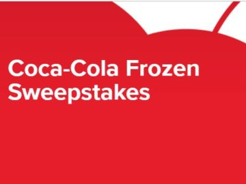Coca-Cola Frozen Sweepstakes
