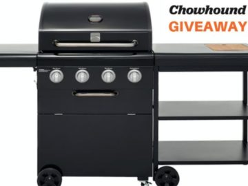 Chowhound Summer Kenmore Grill Giveaway