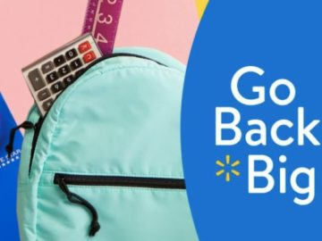 Back To School at Walmart $50,000 Sweepstakes