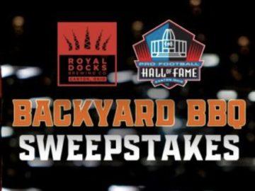 Pro Football Hall of Fame Backyard BBQ Sweepstakes