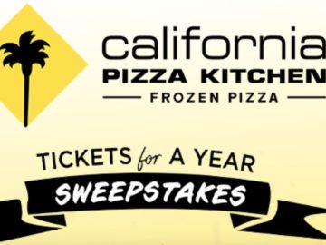 California Pizza Kitchen Frozen Pizza Concert Tickets for a Year Sweepstakes