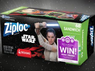 Win with Ziploc Sweepstakes (Receipt Upload)