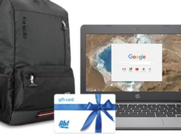Abt Electronics Back To School Giveaway