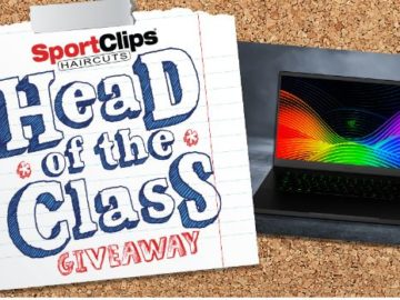 Sport Clips 2019 Head of the Class Giveaway