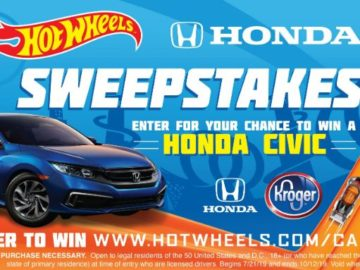 Hot Wheels Honda Sweepstakes