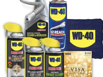 Fastenal WD-40 August 2019 Giveaway