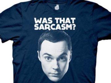 Win a Sheldon Cooper Big Bang Theory T-Shirt!