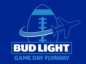 Bud Light Game Day Flyaway Sweepstakes (Limited States)
