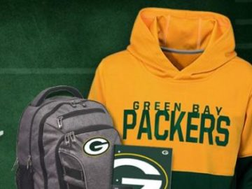 Green Bay Packers 2019 Back to School Sweepstakes
