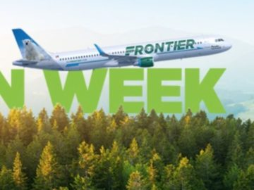 Frontier Airlines Green Week Sweepstakes