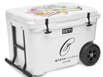 Glass Vodka Soda Yeti Sweepstakes