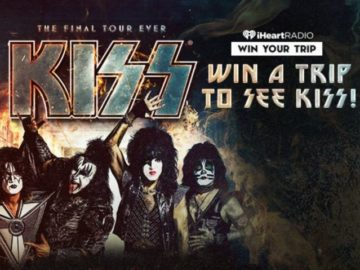 iHeart Radio Win A Trip To See KISS!