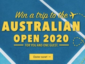 Win a Trip to the Australian Open 2020