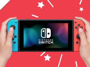 Ellen DeGeneres Nintendo Switch Giveaway