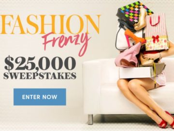 Shape Magazine $25,000 Sweepstakes