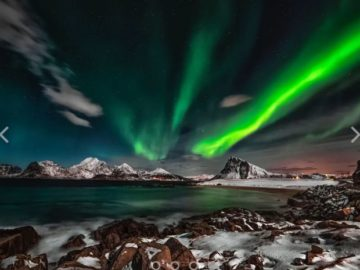 Win a Trip to see the Northern Lights with Earth.com Giveaway