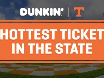 Dunkin' Donuts Hottest Ticket in the State Sweepstakes