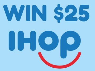 Win a $25 IHOP Gift Card from SweepstakesFanatics!