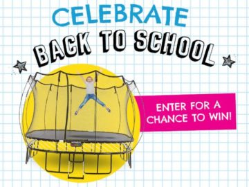 Springfree Back to School Giveaway