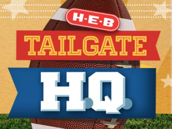 H-E-B Tailgate Toss Sweepstakes (Texas Only)