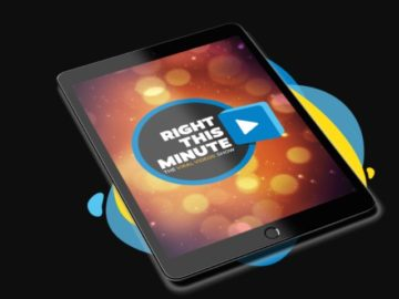 Right This Minute iPad Sweepstakes (Buzz Word)