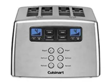 Cuisinart 4 Slice Countdown Leverless Toaster Sweepstakes