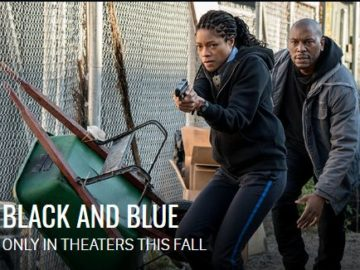 Black and Blue Fearless Female Sweepstakes